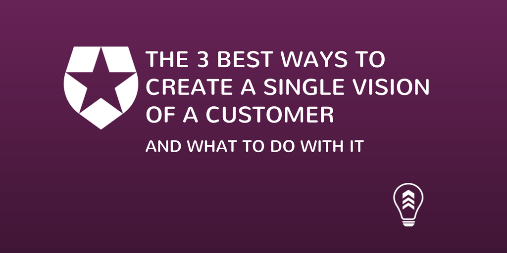 The 3 Best Ways To Create the Single Vision of A Customer (And What to Do With It), Leading the Product 2017